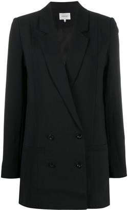 Gestuz Double-Breasted Longline Blazer