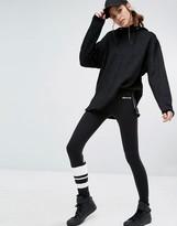 Ellesse Leggings With Stripe On On Leg And Logo On The Back