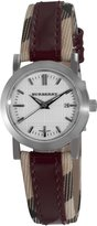Burberry Women's BU1397 Round 3-Hand Date Dial Watch
