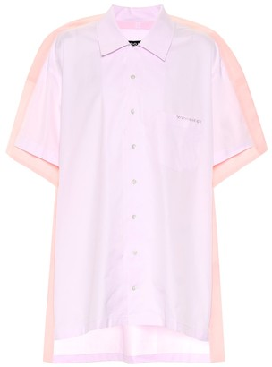 Y/Project Cotton poplin bowling shirt
