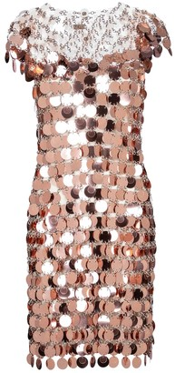 Paco Rabanne Chain-link minidress