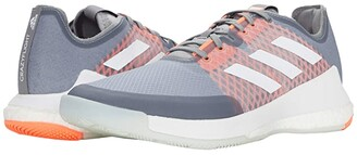 adidas Crazyflight (Grey Three/Footwear White/Signal Coral) Men's Shoes
