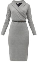 Max Mara Jimmy Dress - Womens - Black White
