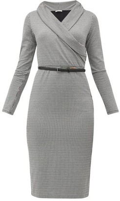 Max Mara Jimmy Dress - Womens - Black White