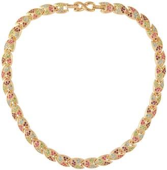 Susan Caplan Vintage 1980s Vintage D Orlan Pastel Swarovski Crystal Collar