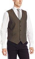 Perry Ellis Men's Corded Twill Stripe Suit Vest