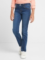 Stretch straight jeans