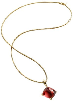 Baccarat Gold-Plated Sterling Silver and Crystal Medicis Necklace