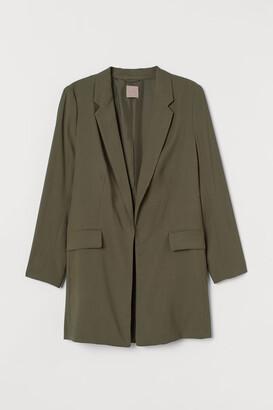 H&M H&M+ Long Jacket - Green