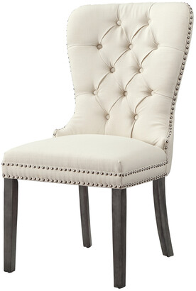 INSPIRED HOME Set Of 2 Rory Linen Dining Chair