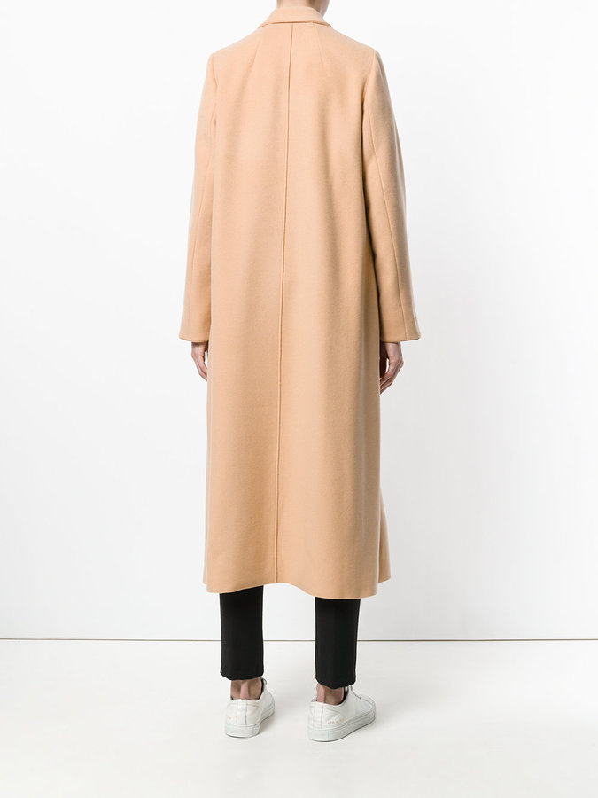 Forte Forte plain single breasted coat