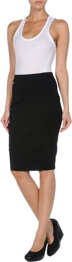 Adidas SLVR Knee length skirts