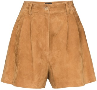 Nili Lotan Roxana high-waisted shorts