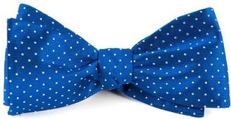 Tie Bar Mini Dots Royal Blue Bow Tie