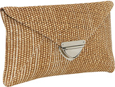 Earth Axxessories Straw clutch