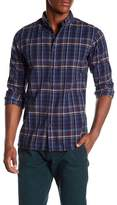 Knowledge Cotton Apparel Checked Button Down Shirt