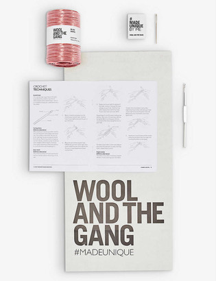 Wool And The Gang Vincente bag crochet kit