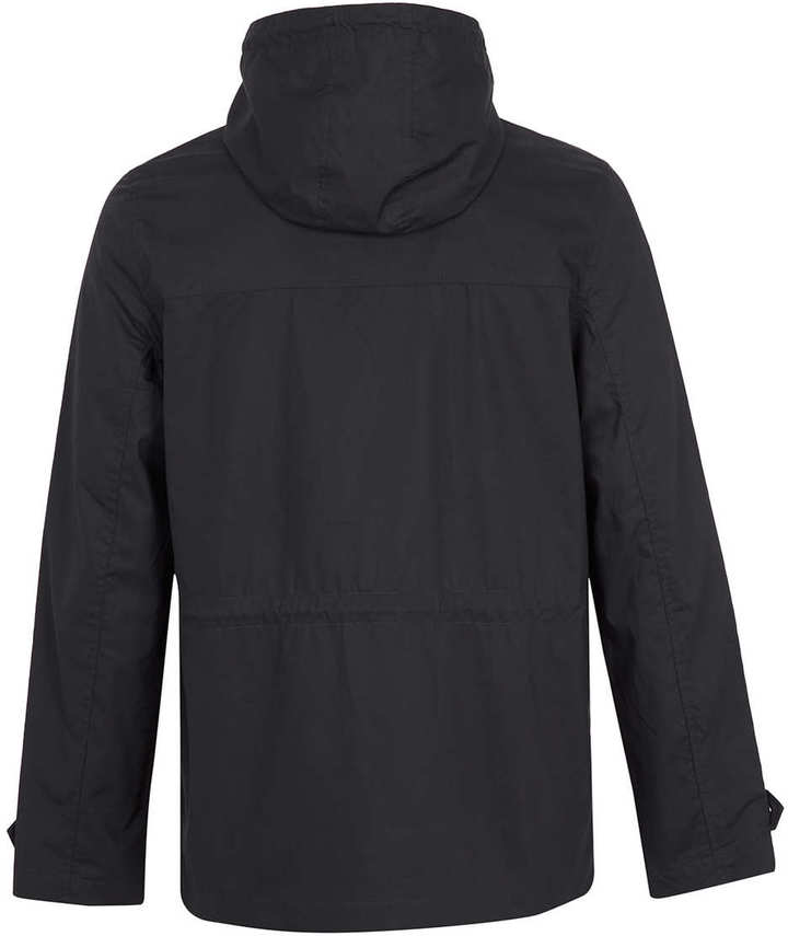 Topman Navy Hooded Trek Jacket