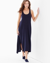 Soma Intimates Cosi Sleeveless Maxi Dress Indigo Blue