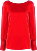 Jucca V-back blouse