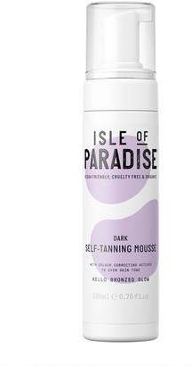 Isle of Paradise Self-Tanning Mousse Dark 200Ml