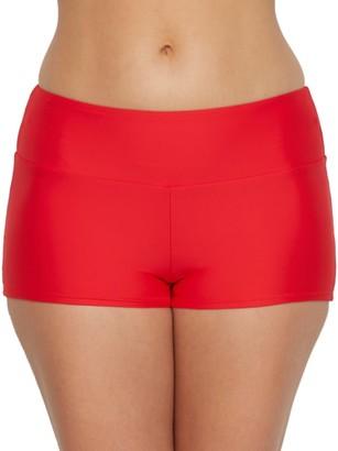 Sunsets Scarlet Seascape Swim Shorts