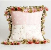 Glenna Jean Isabella Pillow, Patch/Tassels by