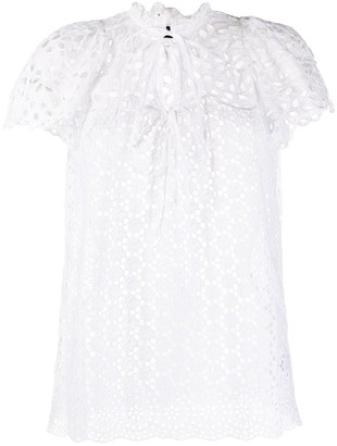 Polo Ralph Lauren Broderie Anglaise Blouse