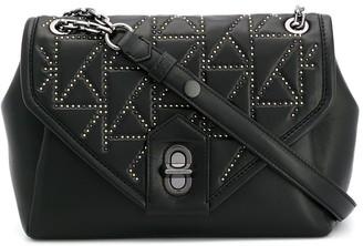 Karl Lagerfeld Paris K/Studio studded shoulder bag