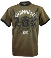 Guinness Official Merchandise Wing Round Neck Printed Men's T-Shirt