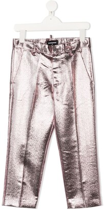 DSQUARED2 Metallic-Effect Trousers