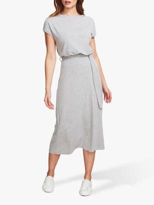 Sosandar Super Soft Jersey Midi Dress, Grey