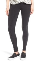 Sun & Shadow Women's Lace-Up Leggings