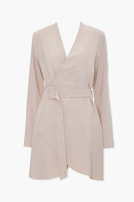 Forever 21 Belted Wrap Kimono