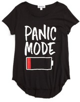 Ten Sixty Sherman Girl's Panic Mode Graphic Tee