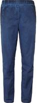 Bottega Veneta - Slim-fit Garment-dyed Cotton Trousers