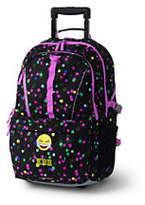 Lands' End Classmate Large Wheeled Backpack - Print-Turquoise Bay