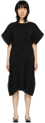 Henrik Vibskov Black Plisse No.3 Dress