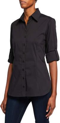 Finley Joey Button-Down Long-Sleeve Roll-Tab Shirt
