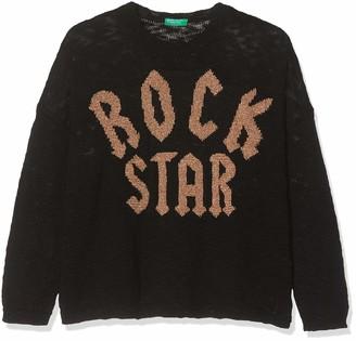 Benetton Girl's Rock G2 Long Sleeve Top
