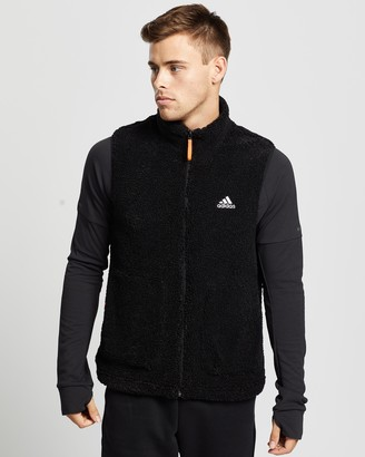 adidas Sherpa Fleece Vest - Men's