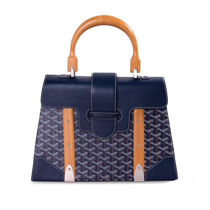 Goyard Saïgon cloth handbag