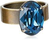 """Liz Palacios Piedras"""" Swarovski Montana Crystal Ring, Size 7"""