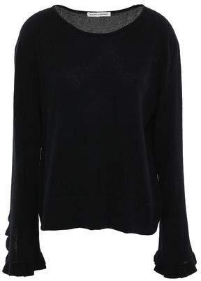 Autumn Cashmere Ruffled Cashmere Sweater