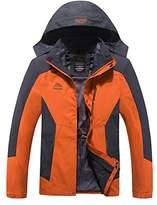 Modern Fantasy Mens Outdoor 3 in 1 Detachable Warm Inside Multifunction Jacket Size US 5XL
