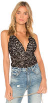 The Jetset Diaries Zodiac Bodysuit in Black. - size L (also in M,S,XS)