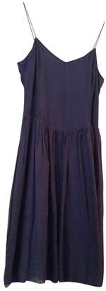Bellerose Blue Silk Dress for Women