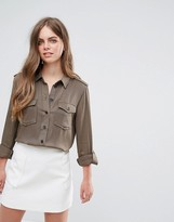 Pieces Kim Utility Style Shirt