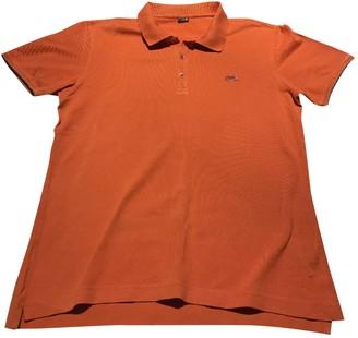 Fendi Orange Cotton Polo shirts