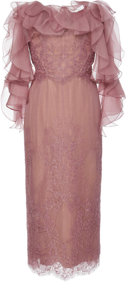 ca03efc41bb Marchesa Off The Shoulder Dresses - ShopStyle